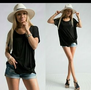 🌟🌟Last One!🌟🌟Knotted Dolman Top